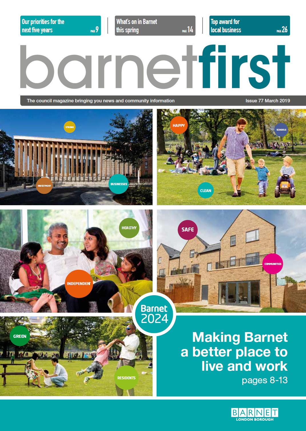 Barnet First - March 2019