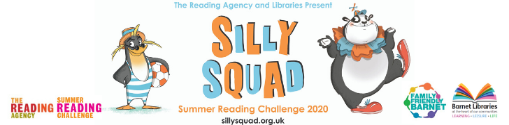 Silly Squad, Summer Reading Challenge 2020