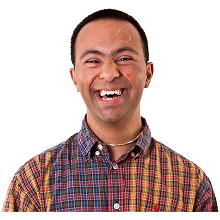 image of smiling man