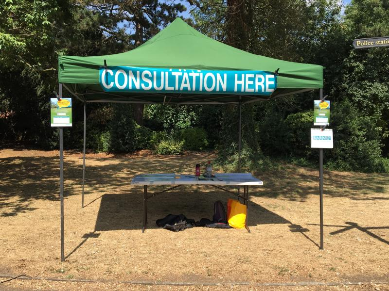 Parks and open spaces consultations
