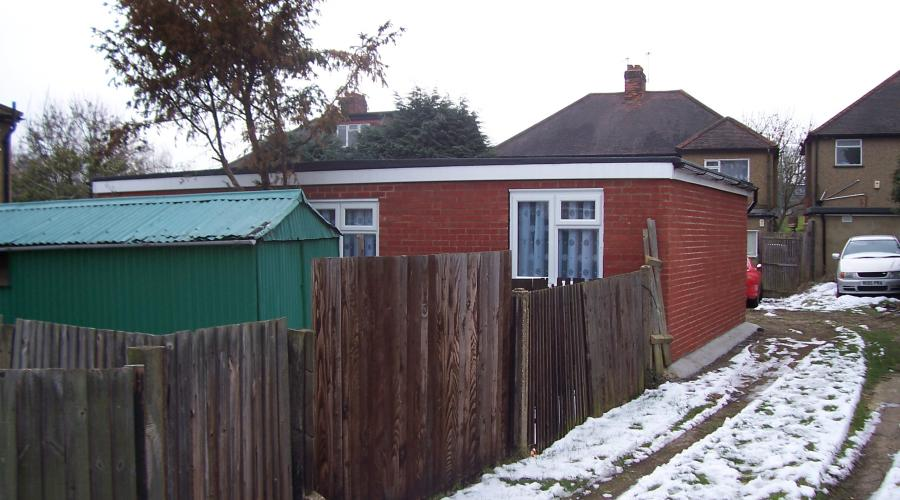 Photo of building without necessary planning permission in Kings Close