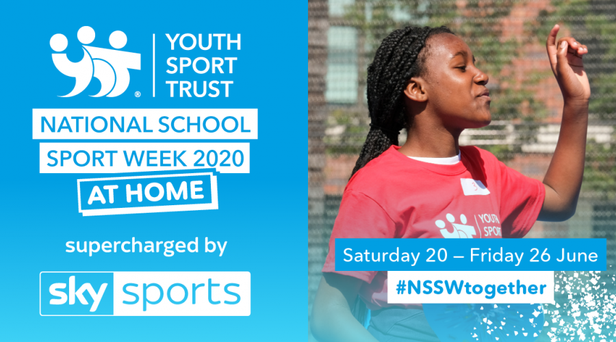 school sport week at home