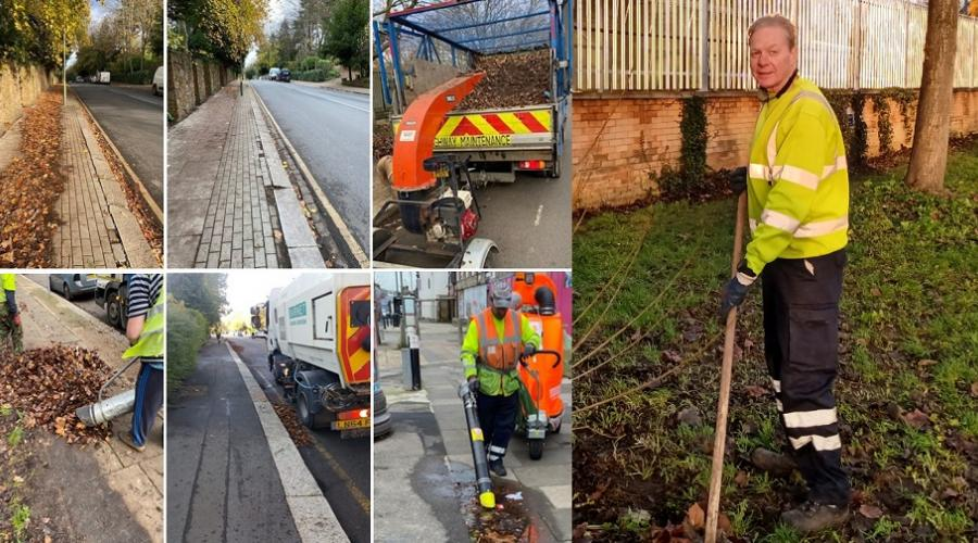 Digby, one of our Street Cleansing Driver Operatives, is part of Barnet's leaf-clearing team.