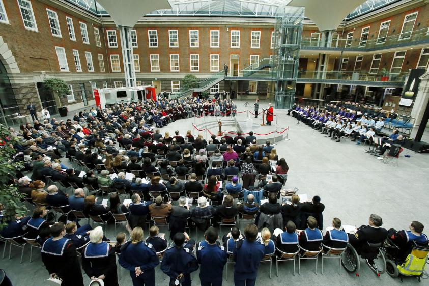 Holocaust memorial day 2019 at Middlesex university