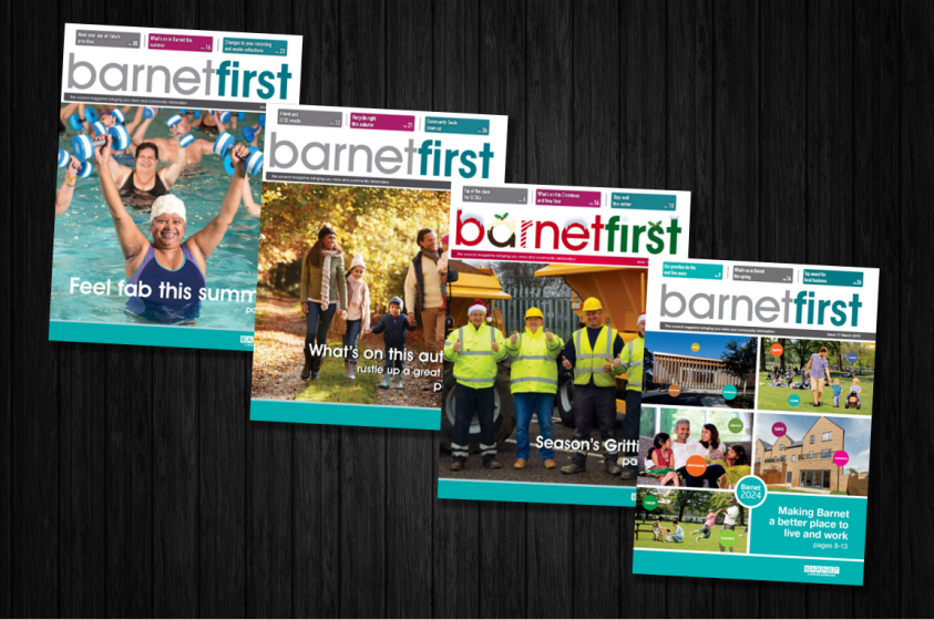 Barnet First covers