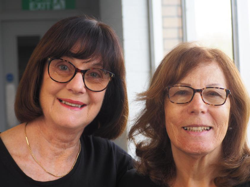Inspirational women Fiona Lewis and Judith Berliner said that staying active has improved their lives.