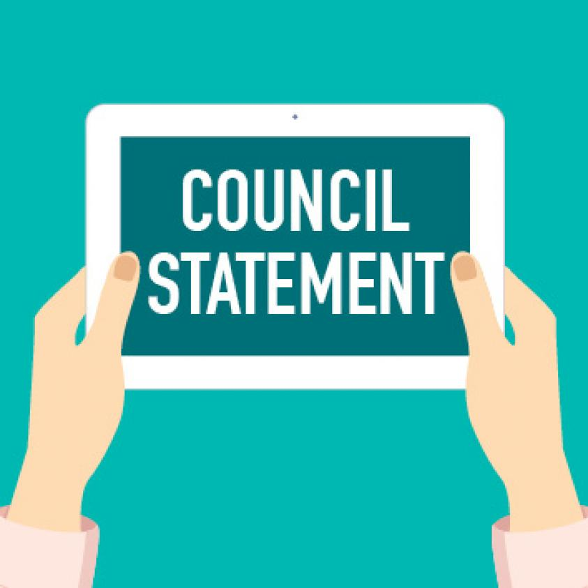 Council statement