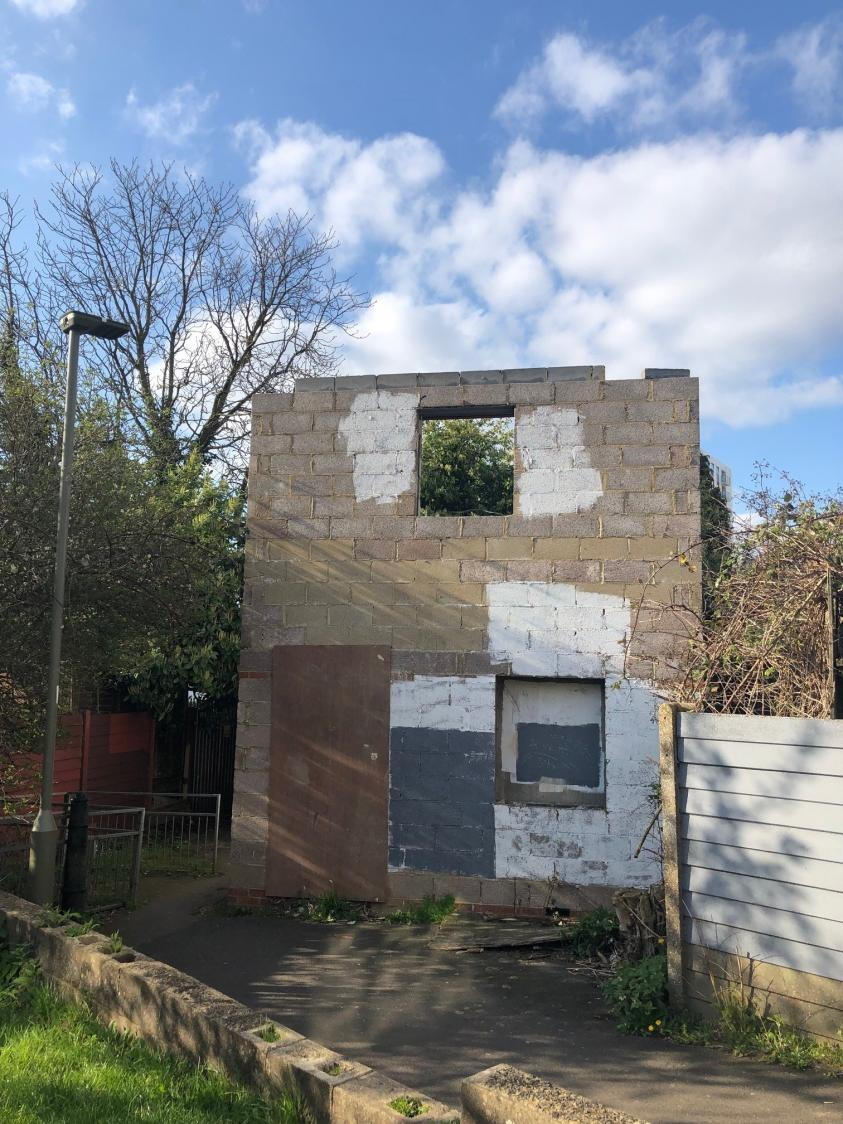Unfinished Building in Mortimer Close