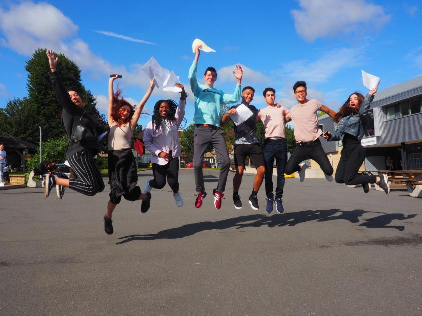 Wren Academy pupils collect A Level results