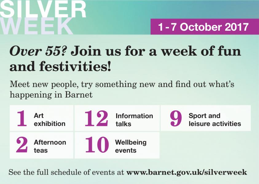 Silver Week - celebrating the contribution older people make to the